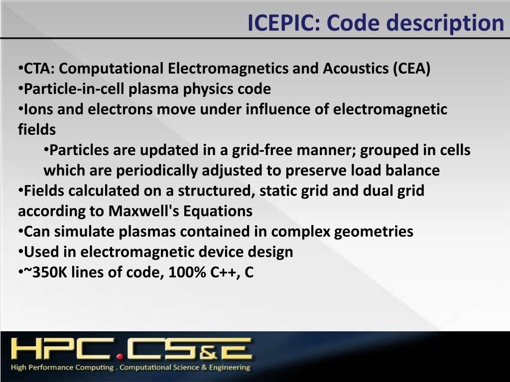 PPT - HPCMP Benchmarking and Performance Analysis PowerPoint