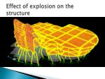 effect of explosion on the structure1