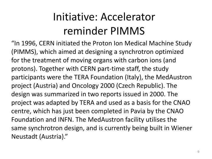 Initiative: Accelerator