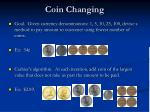 coin changing1