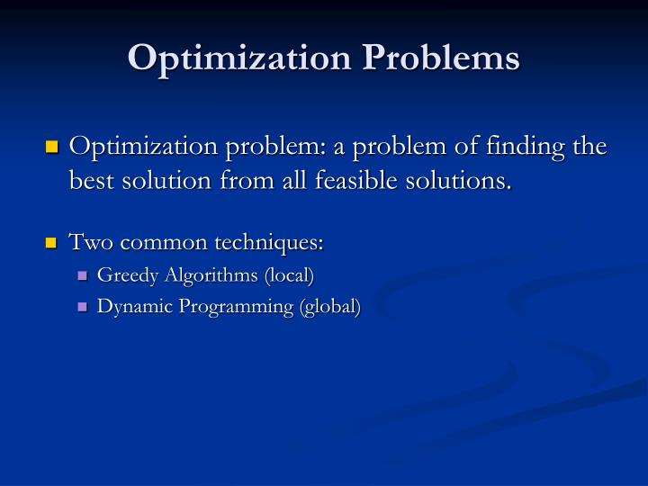 optimization problems n.