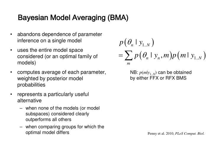 Bayesian Model Averaging (BMA)