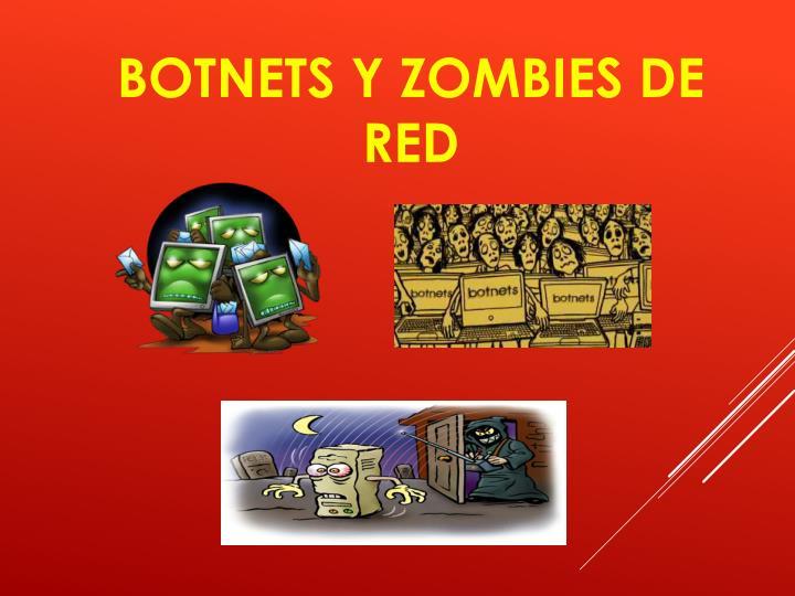 Botnets y zombies de red