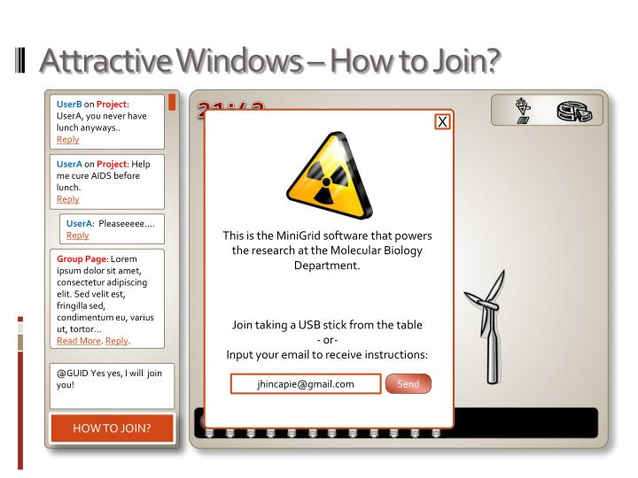 Attractive Windows – How to Join?