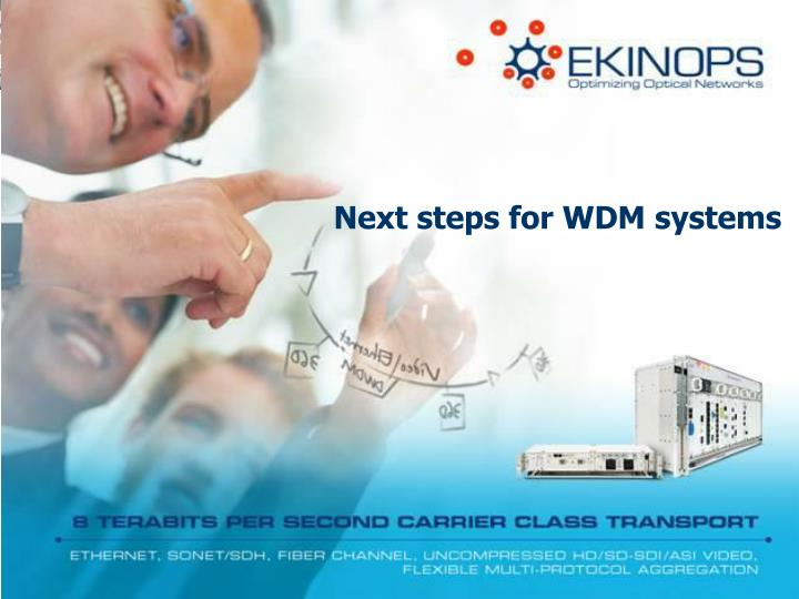 Next steps for WDM systems