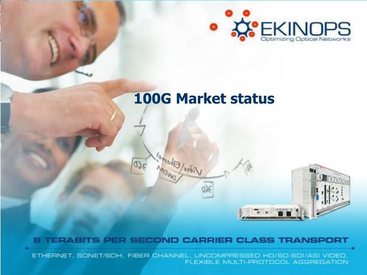 100G Market status