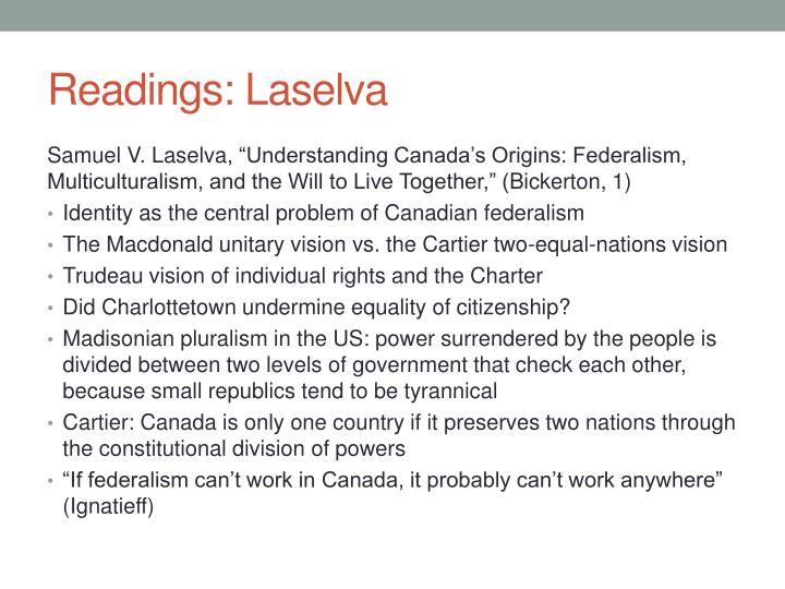 Readings laselva