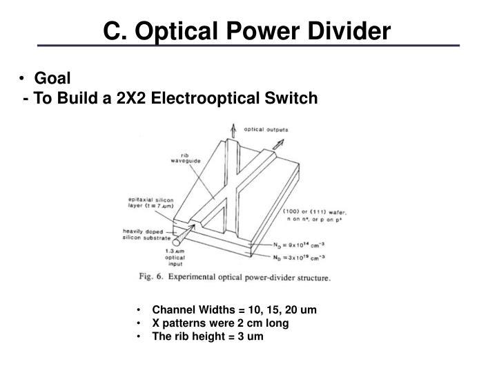 C. Optical Power Divider