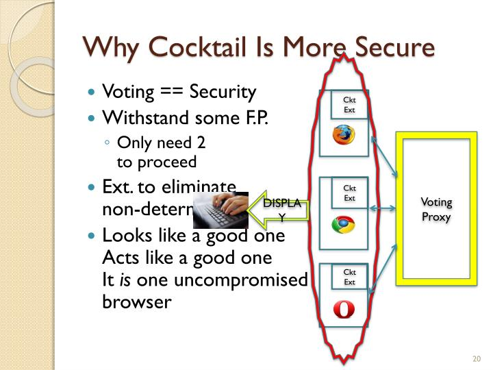 Why Cocktail Is More Secure