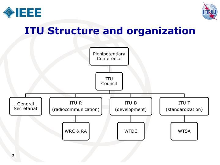 Itu structure and organization