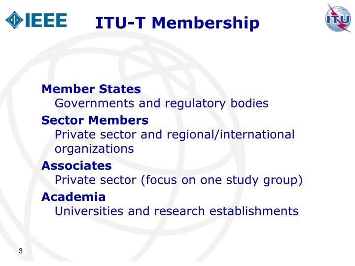 Itu t membership