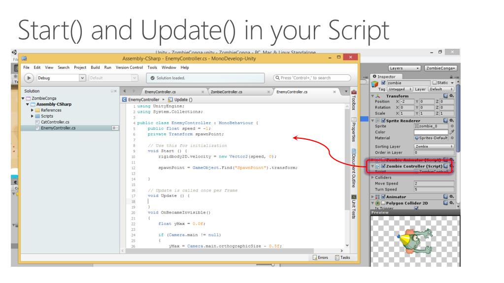 PPT - Game Development with Unity and C# PowerPoint Presentation