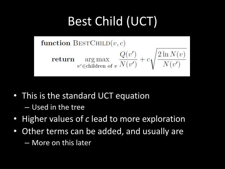 Best Child (UCT)