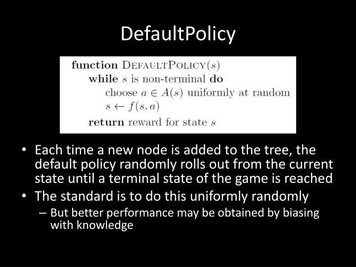 DefaultPolicy
