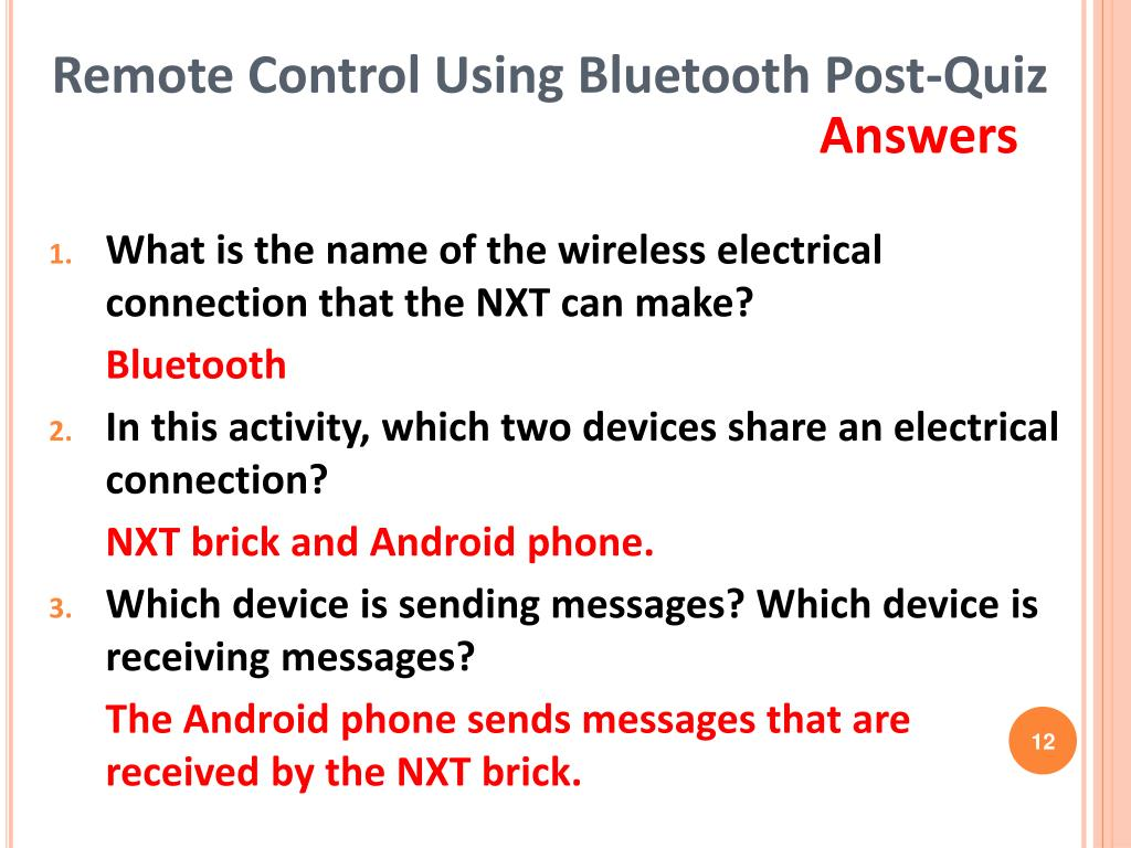 PPT - Remote Control Using Bluetooth PowerPoint Presentation