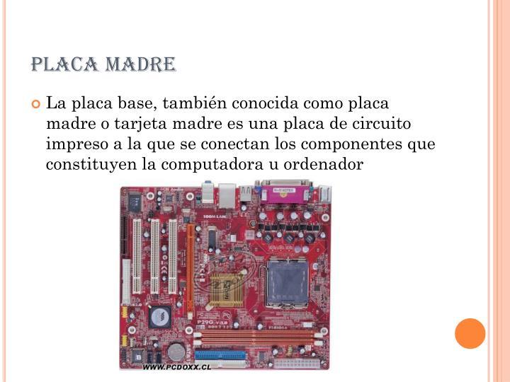 Placa madre1