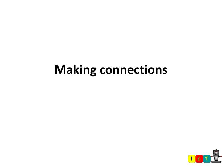 making connections n.