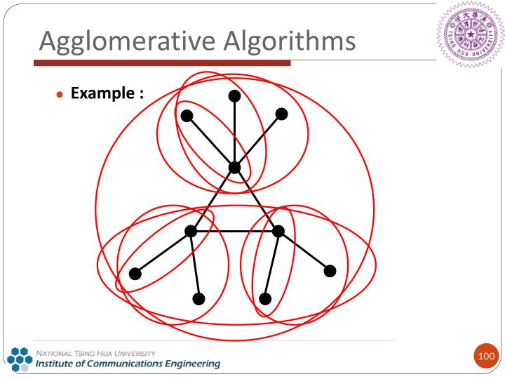 Agglomerative Algorithms