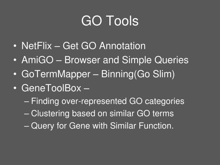 GO Tools