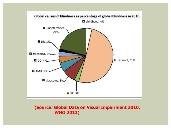 (Source: Global Data on Visual Impairment 2010,