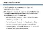 categories of data in if2