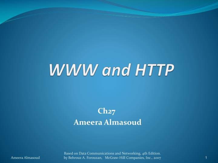 www and http n.
