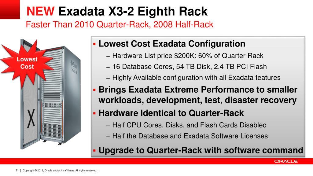 PPT - Exadata X3 Database In-Memory Machine PowerPoint Presentation