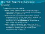 sec 7009 responsible conduct of research2