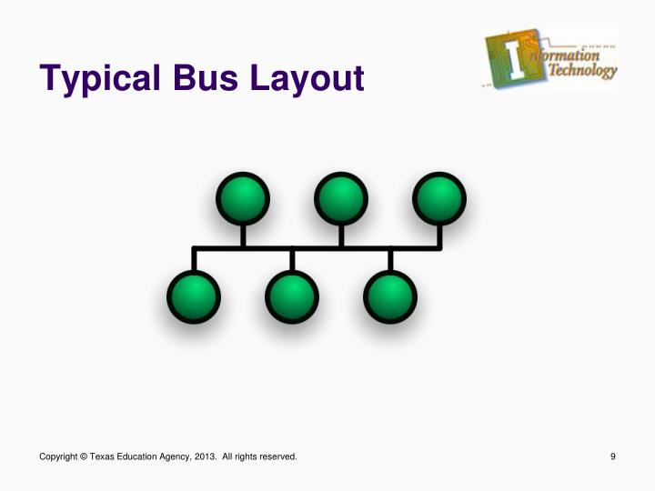 Typical Bus Layout