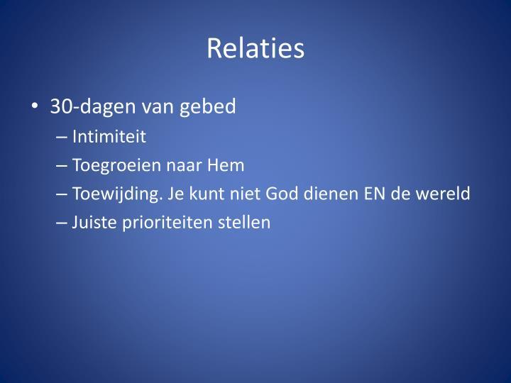 Relaties2