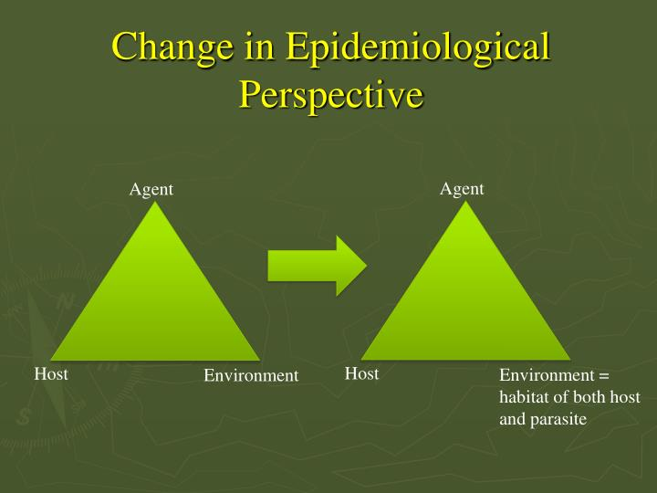Change in Epidemiological Perspective