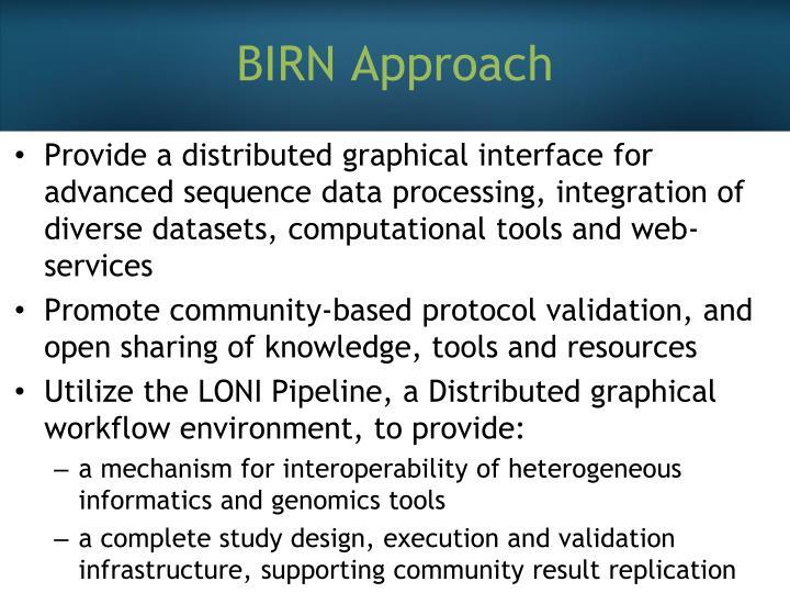 BIRN Approach