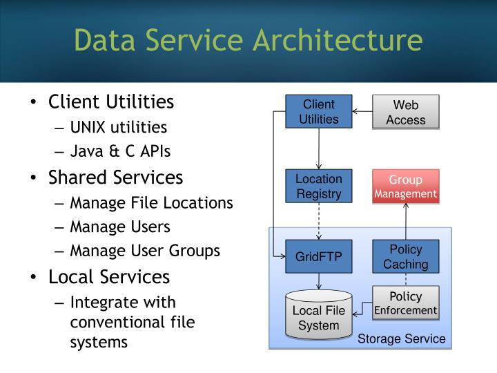 Data Service Architecture