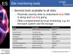 site monitoring tools