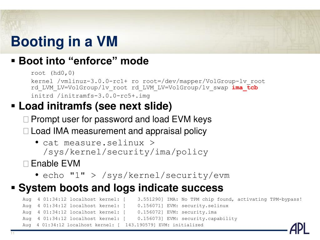 PPT - Linux Security Summit 8 September 2011 PowerPoint Presentation
