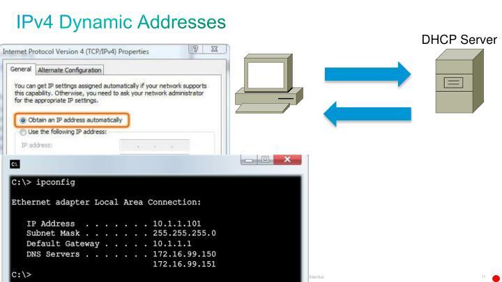 IPv4 Dynamic Addresses