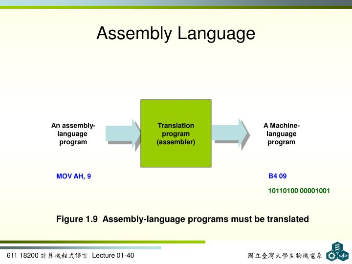 An assembly-