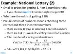 example national lottery 2