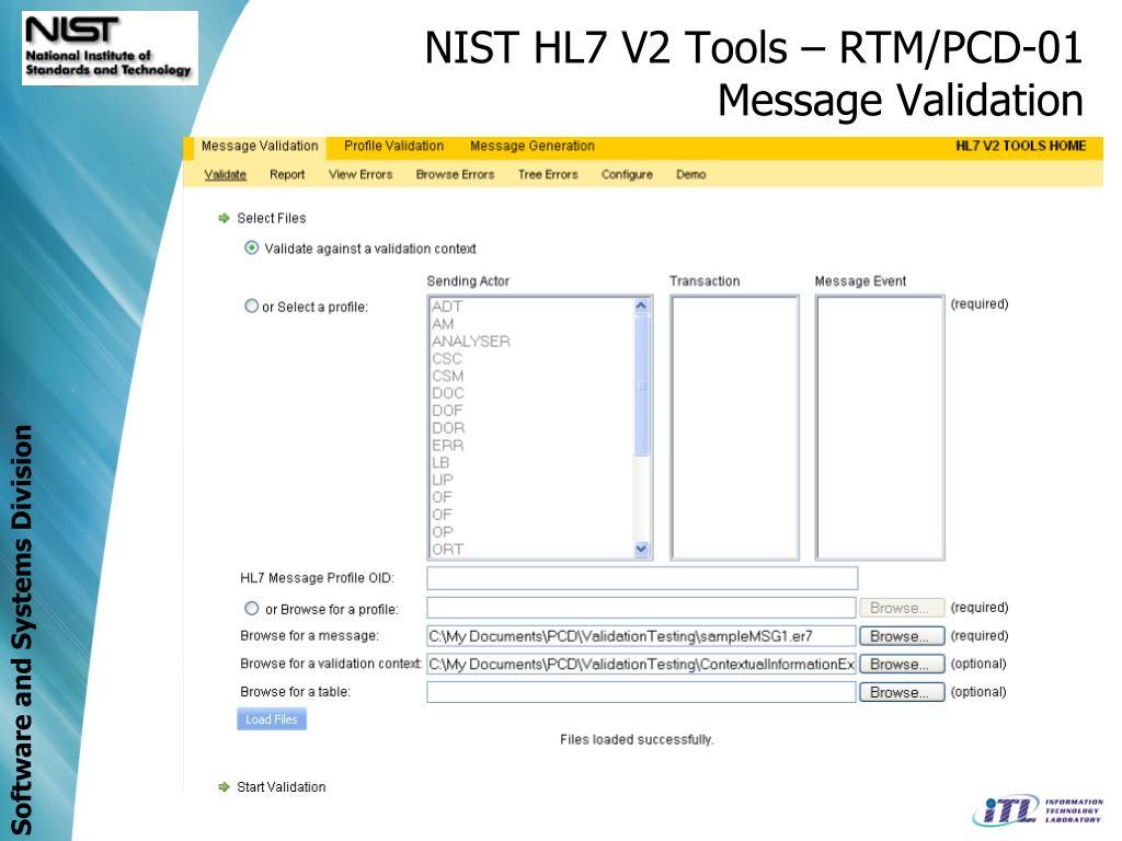 PPT - Medical Device Test Effort NIST Team Members