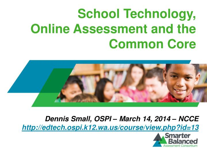assessment and technology