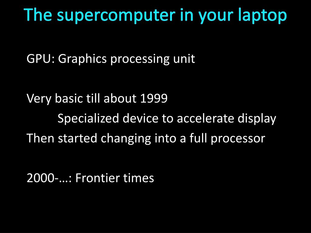 PPT - Synchronization 3 and GPUs PowerPoint Presentation