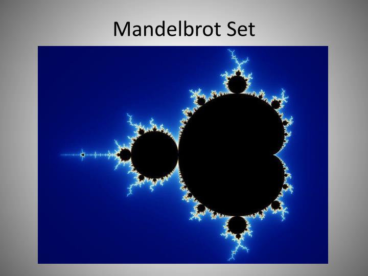 Mandelbrot set1