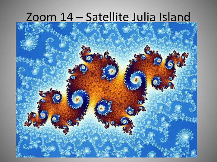 Zoom 14 – Satellite Julia Island