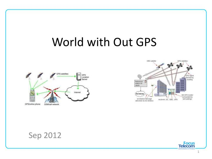 world with out gps n.