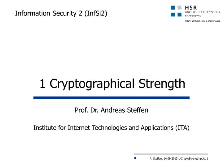 Information security 2 infsi2