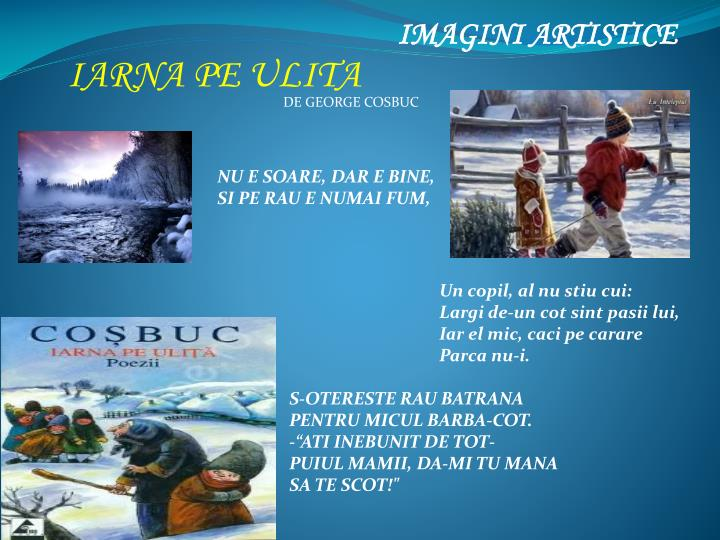 IMAGINI ARTISTICE