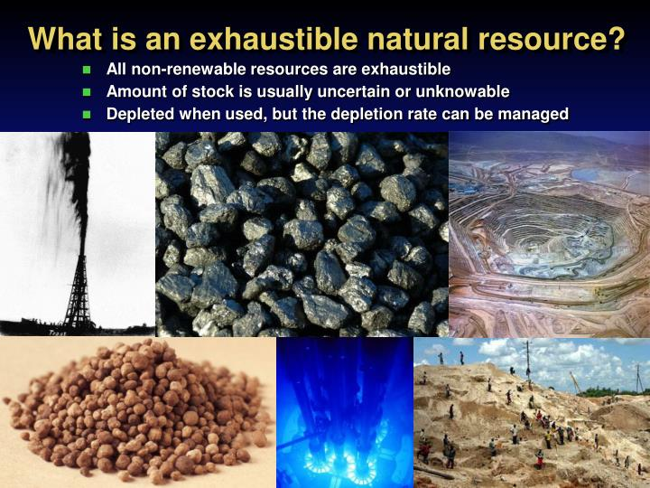 natural resources are being depleted Everywhere i went, foreign commercial interests were exploiting resources after signing contracts with the autocratic government prodigious logs, four and five feet in diameter, were coming out of the virgin forest, oil and natural gas were being exported from the coastal region, offshore fishing rights had been sold to foreign interests, and exploration for oil and minerals was under way in.