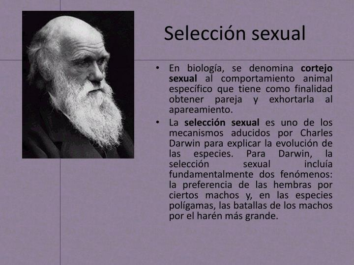 Selecci n sexual
