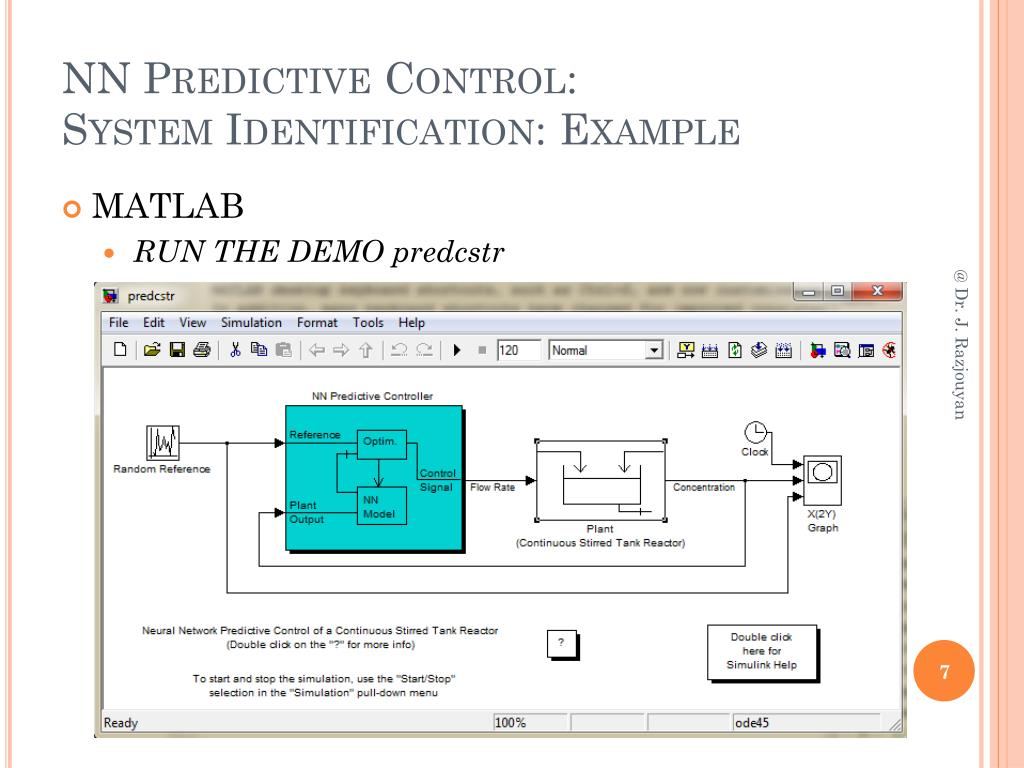 PPT - Artificial Neural Network: Control Systems PowerPoint