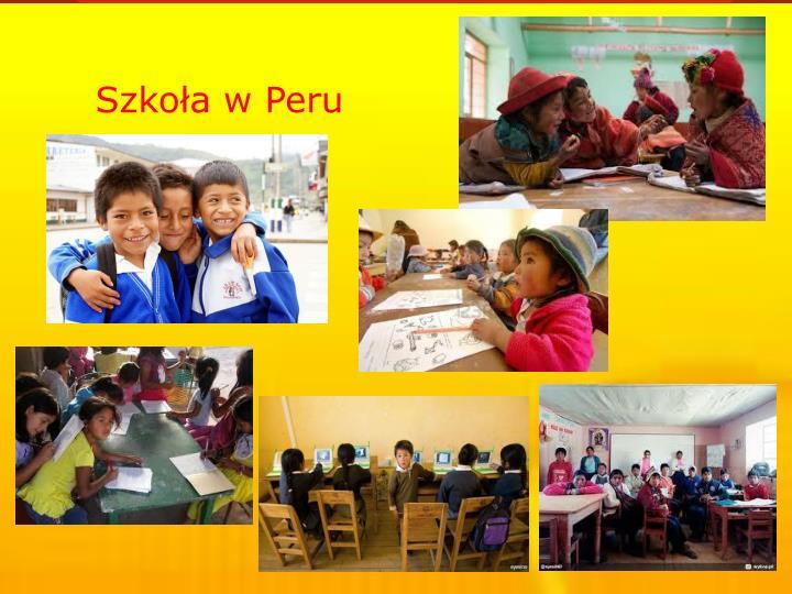 Szkoła w Peru